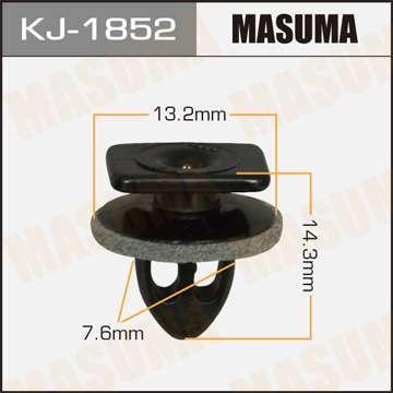 Клипса автомобильная (автокрепеж), уп. 50 шт. Masuma KJ-1852