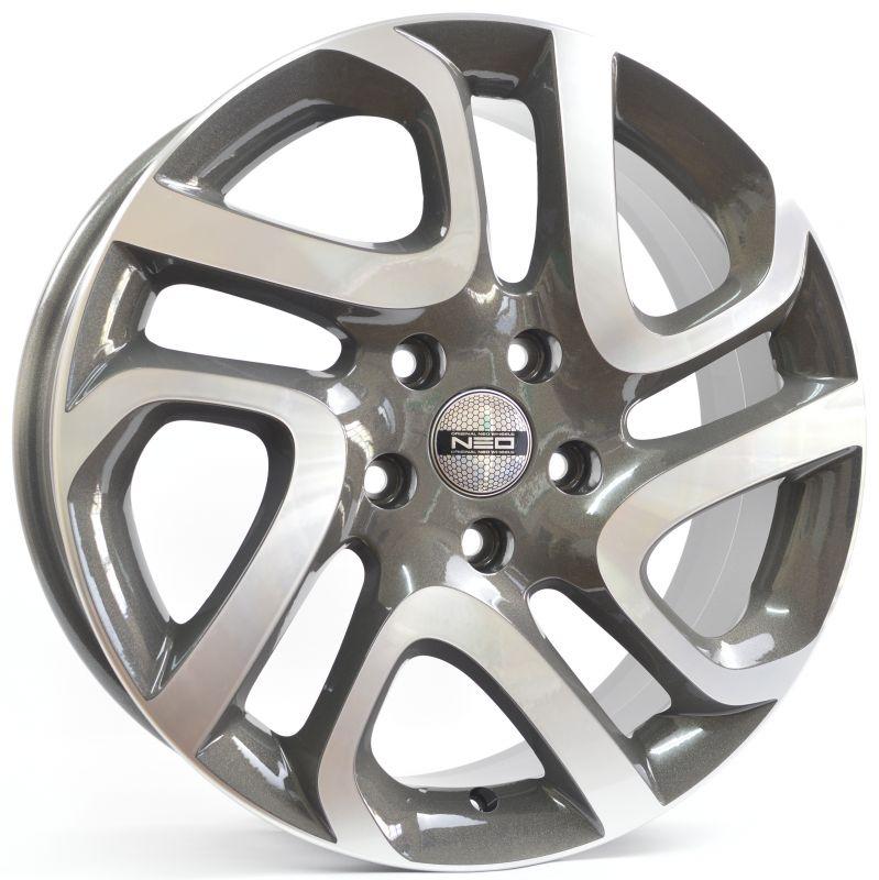 Диск колесный NEO 700 6,5xR17 5x114,3 ET50 ЦО66,1 серый  N700-6517-661-5x1143-50GRD