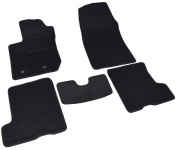 Коврики салона текстильные, чёрные SV-Design 3013-UNF3-15P для LADA X Ray-