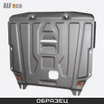 Защита радиатора стальная ALFeco для  Mitsubishi Pajero Sport 2016 -