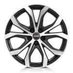 Диск колесный Alutec W10X 8xR18  5x108 ET45 ЦО70,1 чёрный с полированной лицевой частью W10X-80845B53-5