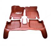 3D коврики в салон кожаные Mitsubishi Lancer 2007 -