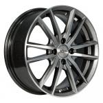 Диск колесный X'trike X-129 6.5xR16 4x100 ЕТ36 ЦО67.1 мрачно серебристый глубокий 74289