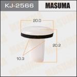 Клипса автомобильная (автокрепеж), уп. 50 шт. Masuma KJ-2566