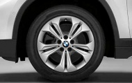 Диск колесный R17 BMW Double spoke 564 36116856065 сильвер BMW X1 (F48) 2015-