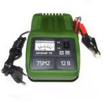 Зарядное устройство для аккумуляторных батарей (40 до 75 А/ч.) Электролидер ЗУ-75М2