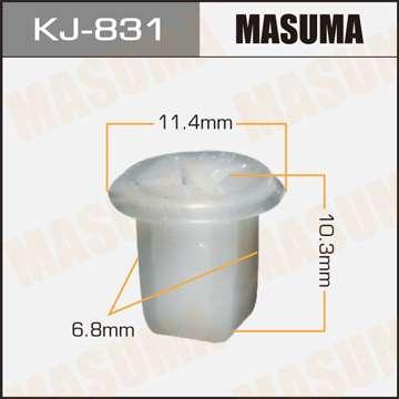 Клипса автомобильная (автокрепеж), уп. 50 шт. Masuma KJ-831