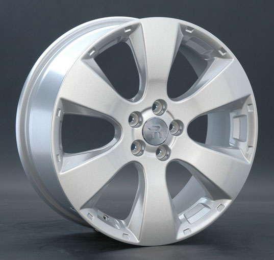 Диск колесный Replay SB19 7xR17 5x100 ET48 ЦО56,1 серебристый 012369-030254002