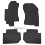 Коврики в салон (текстильные, черные, подпятник п/у) Норпласт NPA10-VTe220-180a Ford Explorer 2010-2015