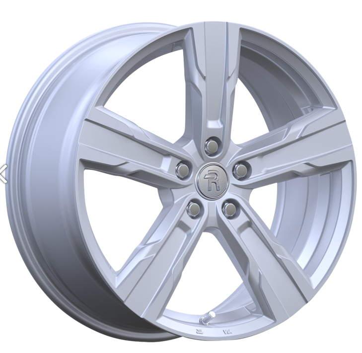 Диск колесный REPLAY V56 7,5xR18 5x108 ET50,5 ЦО63,3 серебристый с полированной лицевой частью 080369-990719006