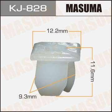 Клипса автомобильная (автокрепеж), уп. 50 шт. Masuma KJ-828