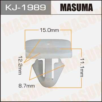 Клипса автомобильная (автокрепеж), уп. 50 шт. Masuma KJ-1989