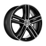 Диск колесный X'trike H-561 9,5xR19 5x120 ET35 ДЦО72,6 черный с полированной лицевой частью 67465