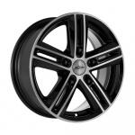 Диск колесный X'trike X-122 6.5xR16 5x139.7 ЕТ40 ЦО98.5 черный полированный 67467