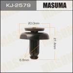 Клипса автомобильная (автокрепеж), уп. 50 шт. Masuma KJ-2579