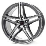 Диск колесный Borbet XRT 8xR17 5x112 ET40 ЦО72,5 серый тёмный с полированной лицевой частью 221774