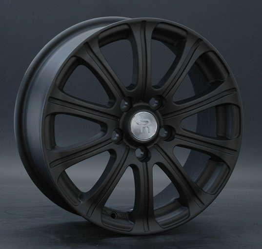 Диск колесный Replay TY57 6,5xR16 5x114,3 ET39 ЦО60,1 черный матовый 014198-160120007