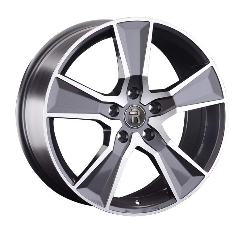 Диск колесный REPLAY A157 8xR20 5x112 ET39 ЦО66,6 серый глянцевый с полированной лицевой частью 046658-040019006