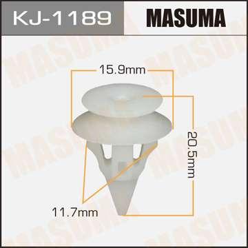 Клипса автомобильная (автокрепеж), 1 шт. Masuma KJ-1189