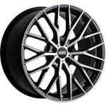 Диск колесный Fondmetal Makhai 10xR21 5x108 ET38 ЦО63.3 глянцевый черный с обработкой FMI05J1021385108FNA2