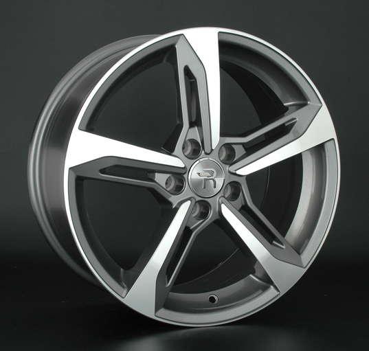 Диск колесный Replay A94 8xR18 5x112 ET39 ЦО66,6 серый глянцевый с полированной лицевой частью 029456-070019006