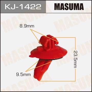Клипса автомобильная (автокрепеж), уп. 50 шт. Masuma KJ-1422