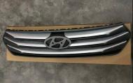 Радиаторная решетка Dark Gray для Hyundai Creta (Крета) 2016, 2017, 2018, 2019