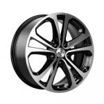 Диск колесный X'trike X-113 7xR17 5x108 ET45 ЦО67.1 черный полностью полированный 14175