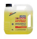 Жидкость стеклоомывателя зимняя 4 литра LIQUI MOLY ANTIFROST - 27 С