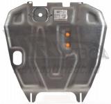Защита картера двигателя и кпп, алюминий (V-все) АВС-Дизайн 01.282.AL для Mitsubishi Lancer 2007 -
