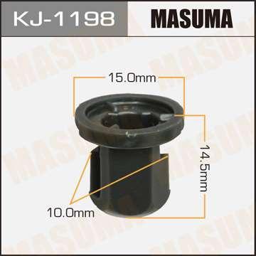 Клипса автомобильная (автокрепеж), уп. 50 шт. Masuma KJ-1198