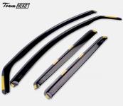 Дефлекторы боковых окон вставные HEKO для Prime