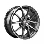 Диск колесный X'trike X-111 6,5xR15 5x112 ET45 ЦО57.1 темно серебристый с полированной лицевой частью 13850