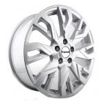 Диск колесный Carwel Рамза 207 7xR18 5x114.3 ET45 ЦО60.1 серебристый металлик 101843