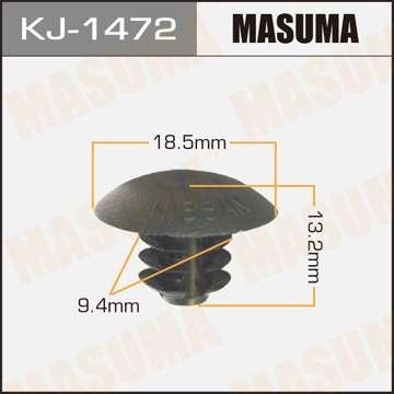 Клипса автомобильная (автокрепеж), уп. 50 шт. Masuma KJ-1472