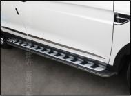 Пороги, боковые подножки для  Dongfeng AX7