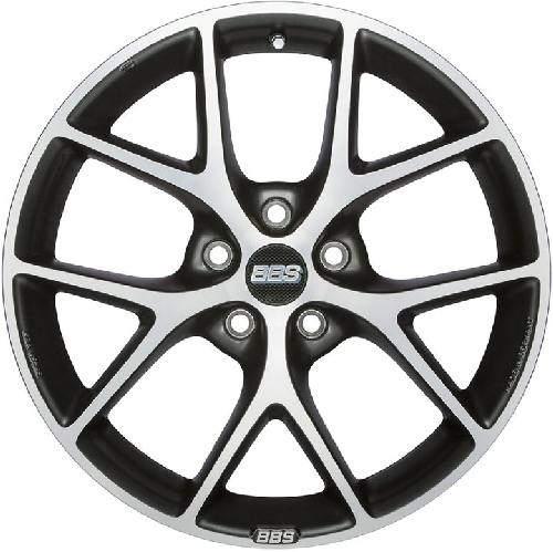 Диск колесный BBS SR006 7,5xR17 5x115 ET40 ЦО70,2 серый матовый с полированной лицевой частью 0358571#