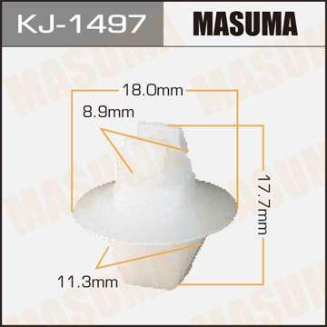 Клипса автомобильная (автокрепеж), 1 шт., Masuma KJ-1497