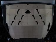 Защита картера двигателя и КПП, алюминий (V-1,6; 2,0) АВС-Дизайн 08.18ABC Ford EcoSport (1G) 2014-