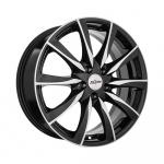 Диск колесный X'trike X-120 7xR17 5x108 ЕТ33 ЦО60.1 черный полированный 70951