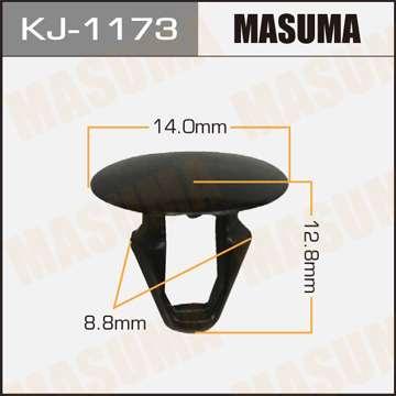 Клипса автомобильная (автокрепеж), уп. 50 шт. Masuma KJ-1173