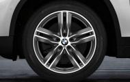 Зимнее колесо в сборе R18 Double Spoke 570M (Bridgestone Blizzak LM001 RFT (RSC) нешип)36112409024 для BMW X1 (F48) 2015-