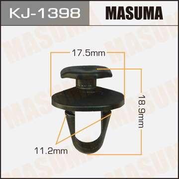 Клипса автомобильная (автокрепеж), уп. 50 шт. Masuma KJ-1398