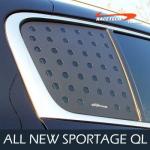 Накладки на задние стекла 3D - KIA The SUV Sportage (RACETECH) для KIA Sportage IV 2016 -