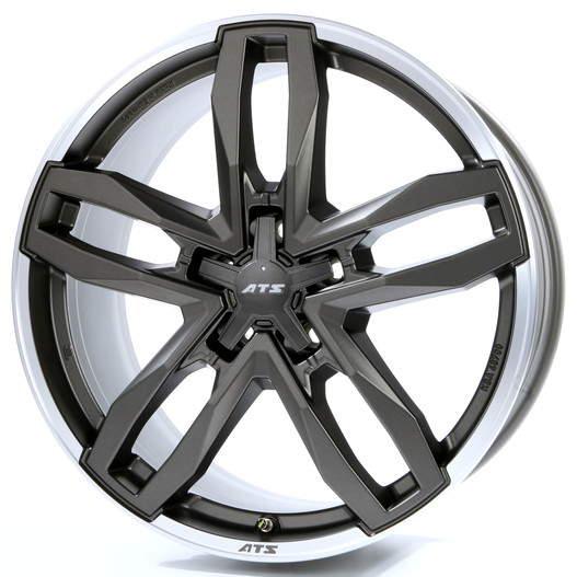 Диск колесный ATS Temperament 9xR19 5x150 ET58 ЦО110,1 серый темный матовый с полированным ободом TE90958X14-6