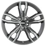 Диск колесный Fondmetal Alke 8xR18 5x112 ET30 ЦО66,5 серый матовый с полированной лицевой частью FMI02 8018305112RTI4
