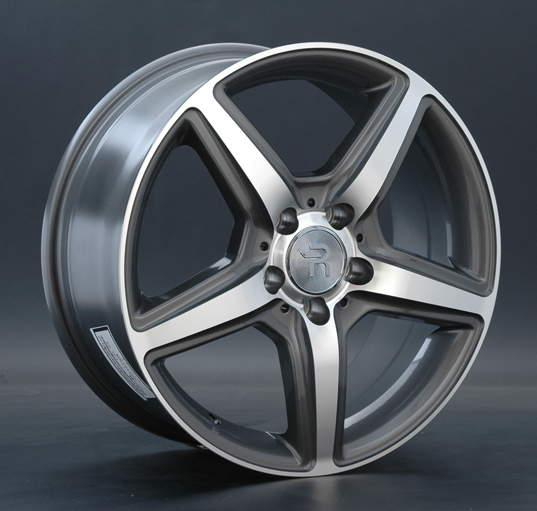 Диск колесный REPLAY MR65 8,5xR18 5x112 ET38 ЦО66,6 серый глянцевый с полированной лицевой частью 000489-070060006