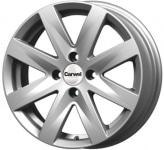 Диск колесный Carwel Волго 208 6xR15 4x100 ET45 ЦО60.1 серебристый металлик 101851