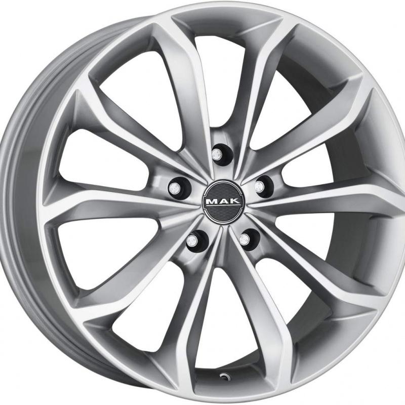 Диск колесный MAK Xenon 8,5xR20 5x127 ET50 ЦО71,6 серебристый F8520XEHS50C4YX