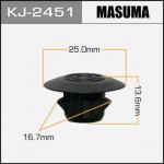 Клипса автомобильная (автокрепеж), 1 шт., Masuma KJ-2451
